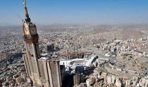 Meccas mega architecture casts shadow over hajj