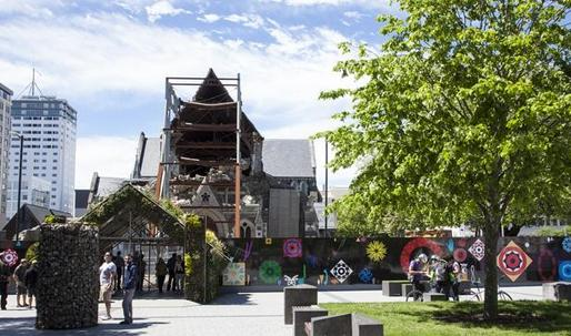 Anything goes as Christchurch rebuilds