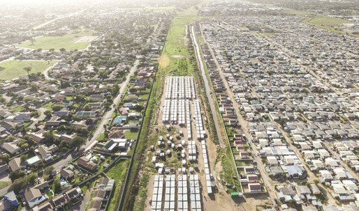 "Unequal Scenes: drone images reveal Cape Town's ""architecture of apartheid"""