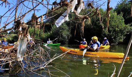 Section of L.A. River through the Valley opens to tours