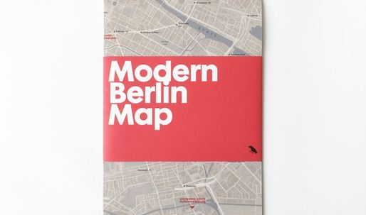Unfold Berlin's modern architectural history in this nifty paper map