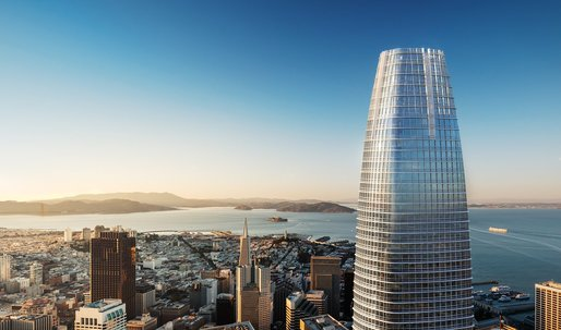 Salesforce Tower is set to become San Francisco's tallest, and most expensive, building