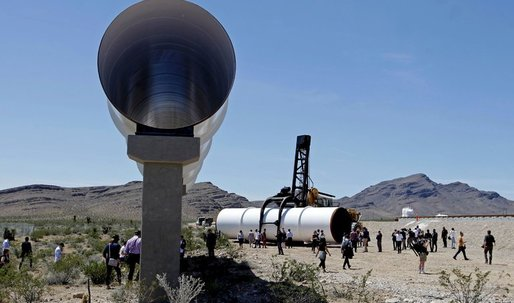 Hyperloop as transportation's new girlfriend: mysterious, unencumbered, exciting, expensive.