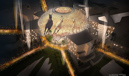 Adrian Smith+Gordon Gill unveils Al Wasl Plaza scheme for Dubai Expo 2020