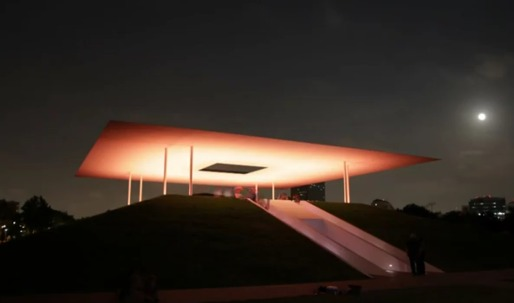 The Turrell skyspace at Rice University