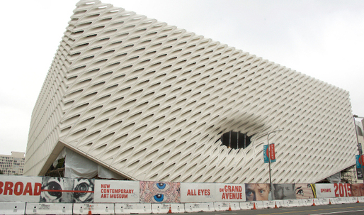 Is The Broad Museums newly unveiled facade living up to its renderings?