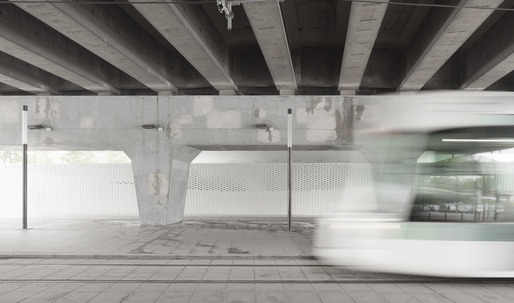 A waste sorting facility for the unused space beneath Paris ring-road