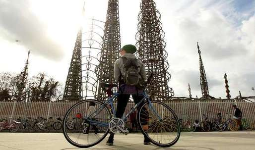 UCLA engineers will study the stability of Watts Towers