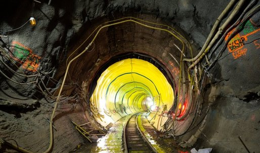 How Engineers Are Building a New Railroad Under New York City