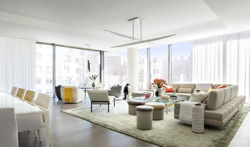 Take a peek at the interiors by Jennifer Post and West Chin, inside of Zaha Hadid's 520 West 28th