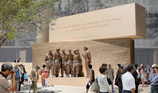 Gehrys modified Eisenhower Memorial design gets green light from National Capital Planning Commission