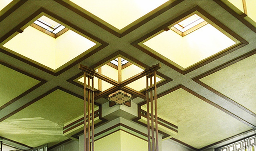 "Blair Kamin calls restoration of Frank Lloyd Wrights Unity Temple ""triumphant"""