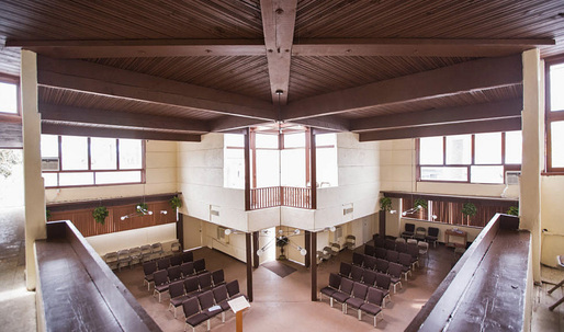 This modernist Rudolph Schindler church in South LA could be yours for $1.85M