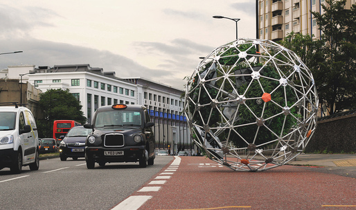 UCL unleashes an autonomous, roving garden sphere for London