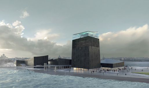 "A black museum for ""The White City of the North"": Moreau Kusunoki Architectes selected to design Guggenheim Helsinki"