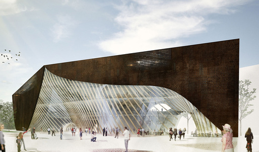 "Helsinki Central Library Competition - 3rd Prize Winner ""LIBLAB"" by Playa Architects"