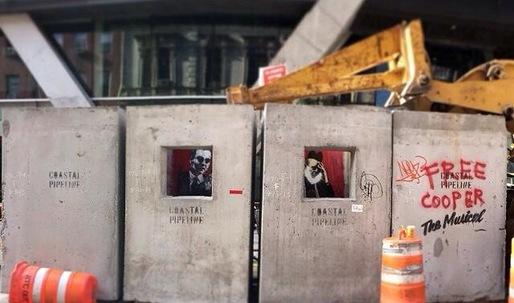 Free Cooper Remixes Banksy Confessional