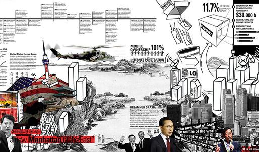 Korean Diaspora by Carlos Zarco Sanz - 3rd-prize entry from Re-thinking The Future Thesis Award 2013