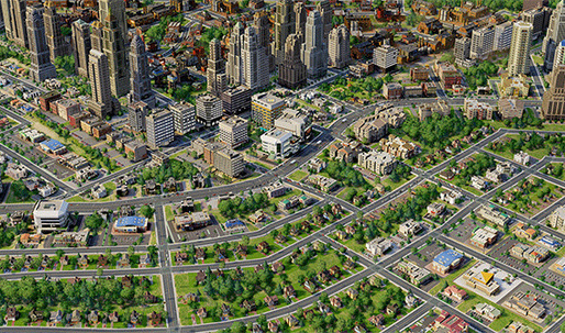 The issue of homelessness in SimCity