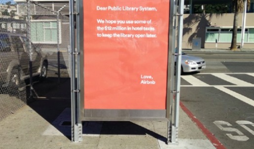 Airbnb draws ire with passive-aggressive ads