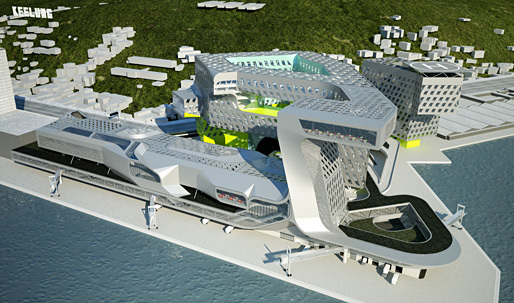 ShowCase: New Keelung Harbor Service Building