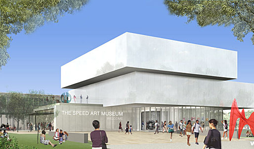 Louisville's Speed Museum expansion by wHY Architecture Presented