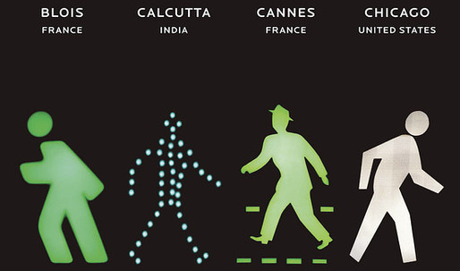 What Do Pedestrian Traffic Icons Say About Your Culture?