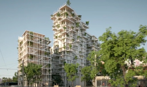 A look at Sou Fujimotos proposed sustainable, timber-frame tower