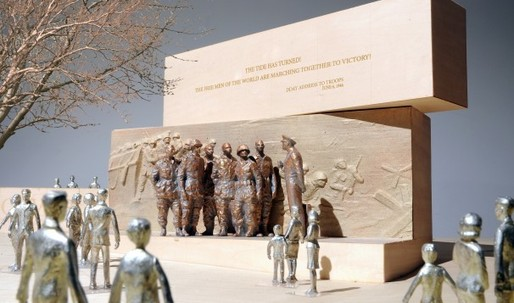 Eisenhower memorial, politics as usual