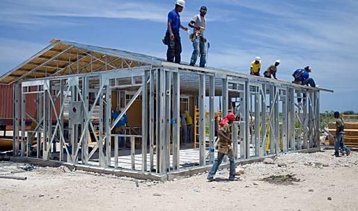 Rebuilding Haiti: Houses for Haiti's homeless