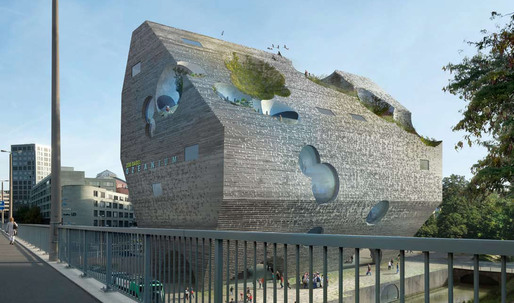 Basel Aquarium Entry by HHF and BURCKHARDT+PARTNER