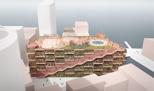 Danish parking garage invites to stay and play