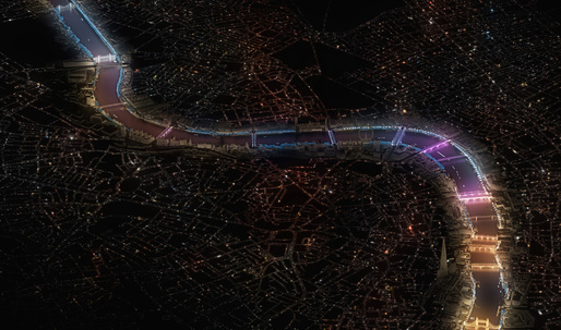 Lifschutz Davidson Sandilands + Leo Villareal to light London's bridges anew
