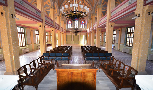 Great Synagogue of Edirne in Turkey, Europe's third largest synagogue, reopens after five-year restoration