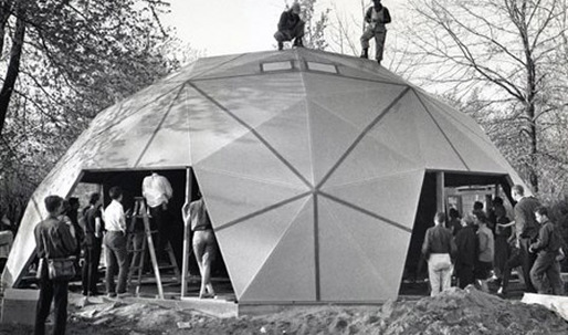 World's first geodesic dome home, built by Buckminster Fuller, to become museum