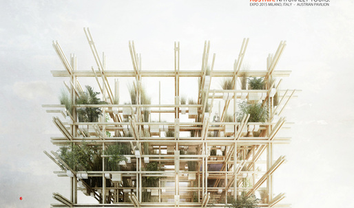 Edible Austrian Pavilion for 2015 Milan Expo by penda & Alex Daxböck