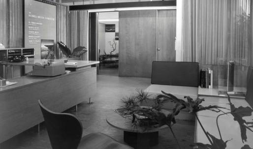 Become the proud tenant of a Neutra-designed office space in Los Angeles