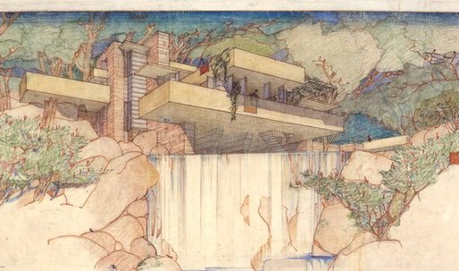 Frank Lloyd Wright Collection Moves to MoMA and Columbia