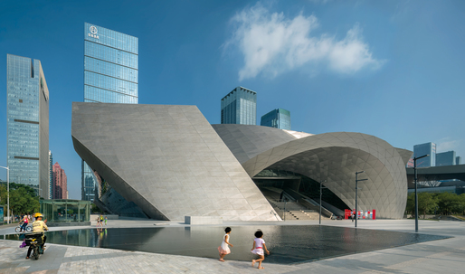 COOP HIMMEL(B)LAU completes work on the Museum of Contemporary Art & Planning Exhibition in Shenzhen