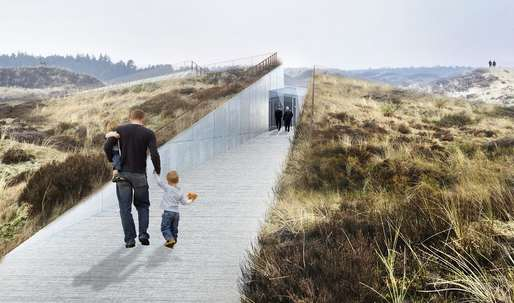 Bjarke Ingels Tirpitz bunker hill​ museum in Denmark to open on June 30