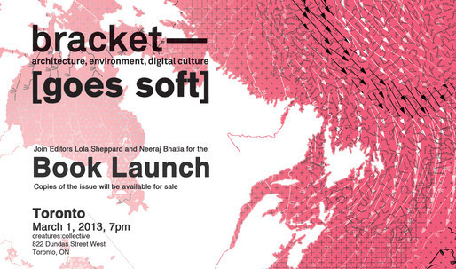 Bracket [Goes Soft] Toronto Book Launch
