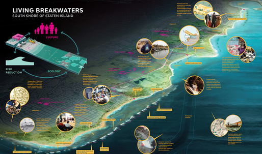 Living Breakwaters wins 2014 Buckminster Fuller Challenge
