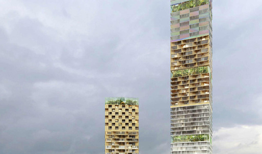Finalists announced for Scandinavia's tallest skyscraper in Gothenburg, Sweden