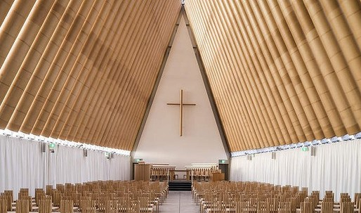 Christchurch's replacement cathedral has boosted a fledgling furniture sector