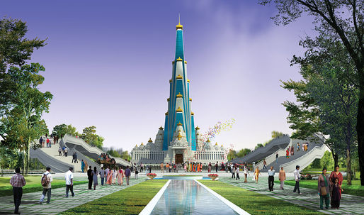 Indian Hindu temple planned as worlds tallest religious structure