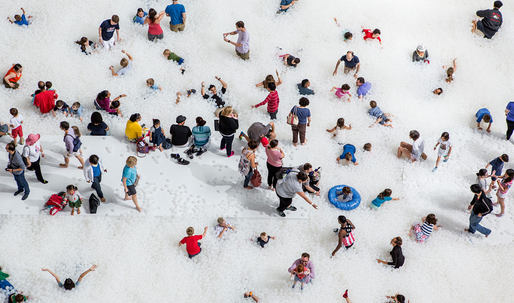 The National Building Museums blockbuster ball pit is coming to Tampa next month