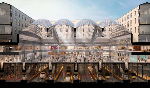 Cuomo releases new renderings of Moynihan Station as major construction gets underway