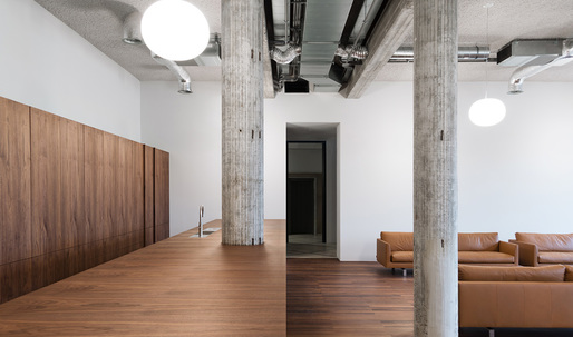 Take a look at KAAN Architecten's new offices inside a 1950s-era Rotterdam building
