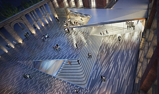 Amanda Levete Architects Chosen for V&A Exhibition Road Site