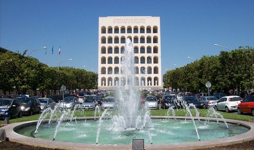 Second life for fascist architecture: Will Mussolinis Square Colosseum become a Palazzo for Fendi?